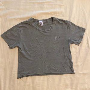 Victoria's Secret PINK Cropped T-Shirt